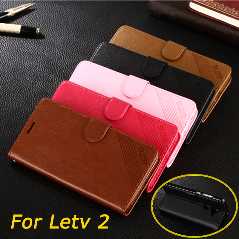 For LeTV <font><b>LeEco</b></font> Le 2 <font><b>Le2</b></font> X620 <font><b>Case</b></font> Leather Cell Phone <font><b>Case</b></font> For LeTV <font><b>LeEco</b></font> Le 2 PU Leather Stand <font><b>Cover</b></font> With Card Holder image