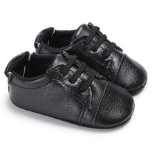 Hot Girls Baby Infant PU Leather First Walkers Soft Bottom Toddler Newborn Sneakers Sports Shoes Boys Footwear