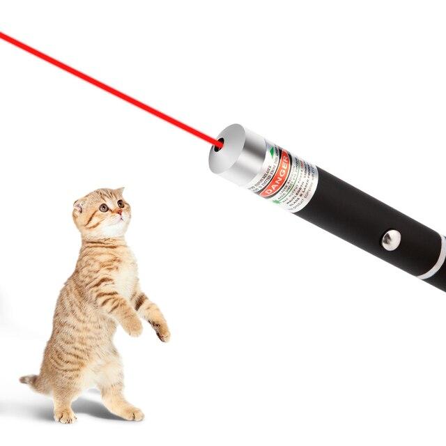 LED לייזר לחיות מחמד חתול צעצוע 5 MW Red Dot לייזר אור צעצוע לייזר Sight 530Nm 405Nm 650Nm מצביע לייזר עט צעצוע אינטראקטיבי עם חתול