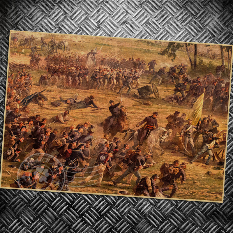 Vintage poster Medieval war Chold Retro poster wall old sticker ...