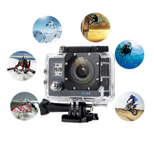 4K Action Camera 16MP Ultra HD Dual Screen WiFi Waterproof Sport DV camera