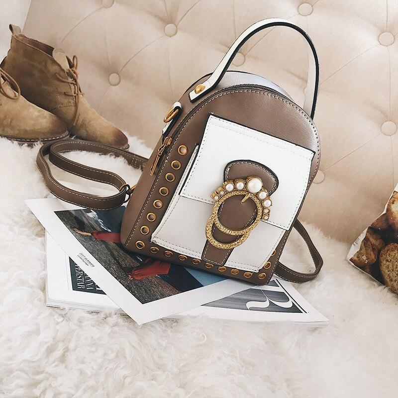 Ms. новые расцветки хитов сумка Европа и США мода пряжки небольшой площади пакет вертикальный квадрат диагональ сумка ба