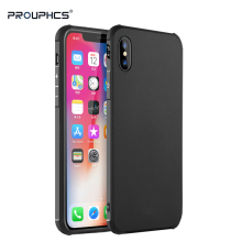 Prouphcs For iPhone X Case Soft Silicone TPU Cover Case for iPhone X Full Protective Shockproof Phone Case