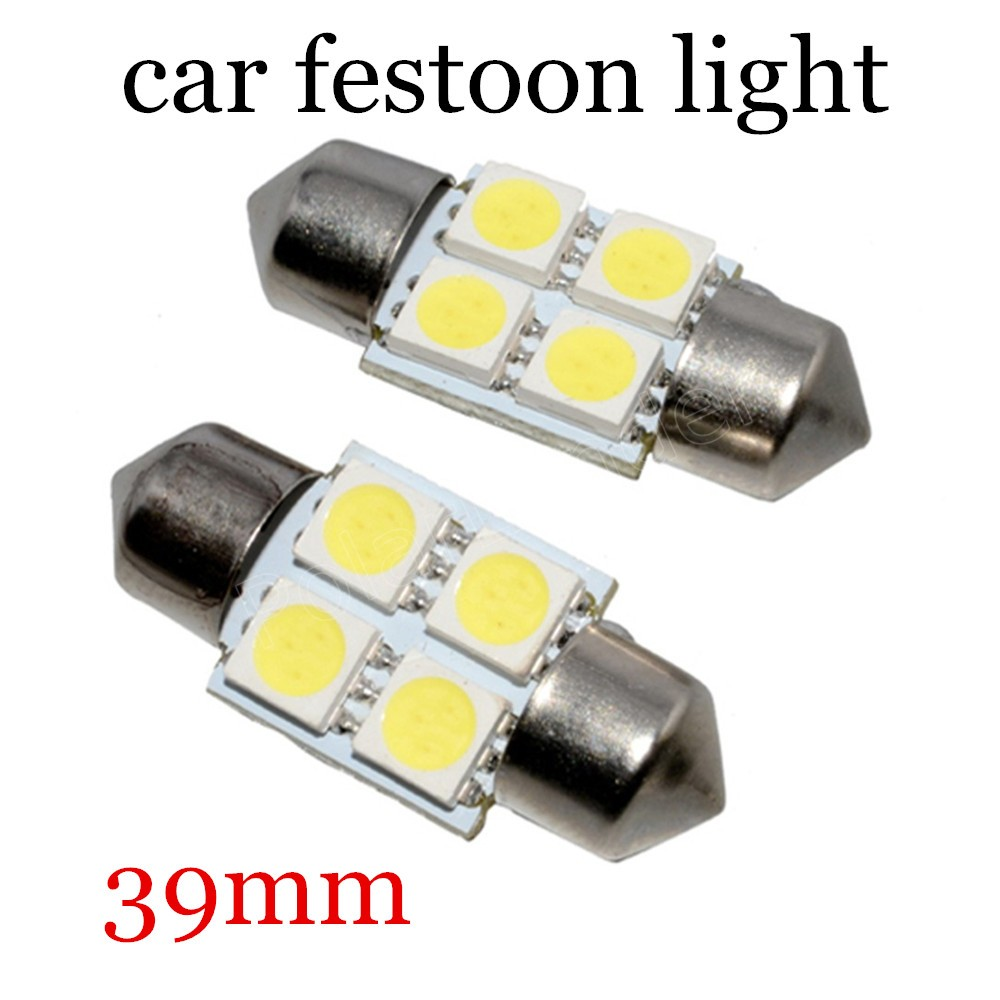 39mm 5050 F-estoon 4SMD best selling hot sale 12v Car Interior Bulb License Plate Light high quality 10 pieces