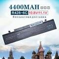 4400 mah 6 células bateria do portátil para samsung r429 r430 r467 r528 aa-pb9nc6b r530 1588-3366 pb9nc6w pb9nc6w/e-pb9ns6b aa
