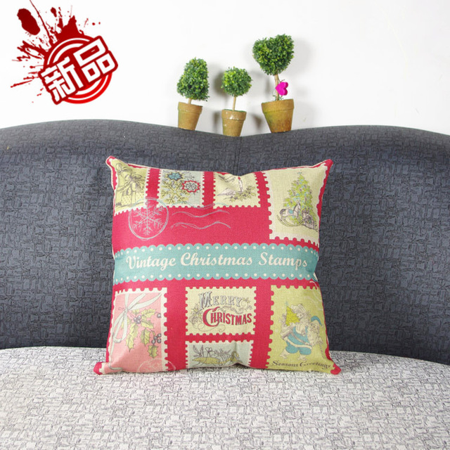 American country Christmas synthetic linen pillow Nordicsofa is