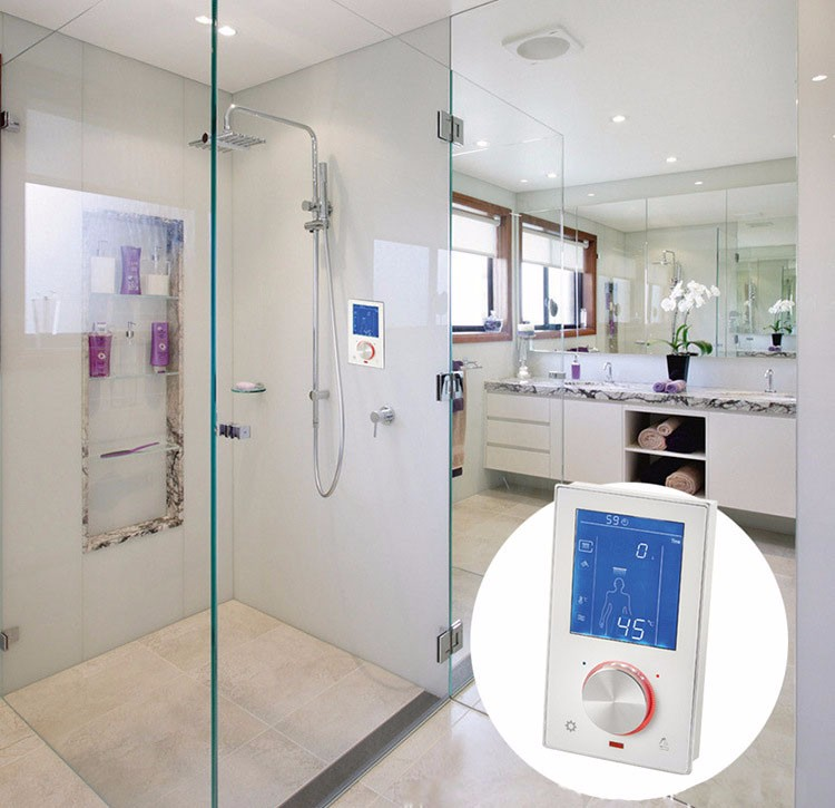 thermostat shower control
