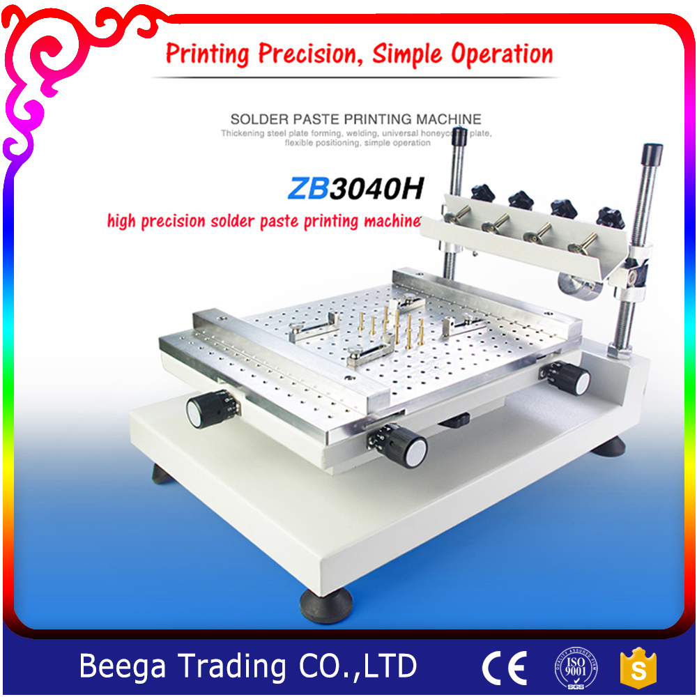 New Design High Precision High Quality Single Screen Printing Machine Simple Operation Pin Hole Design Screen Press high quality r200 feeder clutch roland 200 printing machine compatible parts