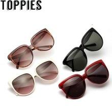 Sunglasses Women Summer Oversized Round Retro Trendy Wide
