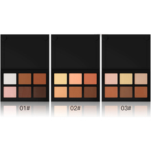 Brand 6 Colors 3D Waterproof Cream Concealer Face Contour Makeup Powder Base Foundation Naked Facial Care Camouflage Cosmetics