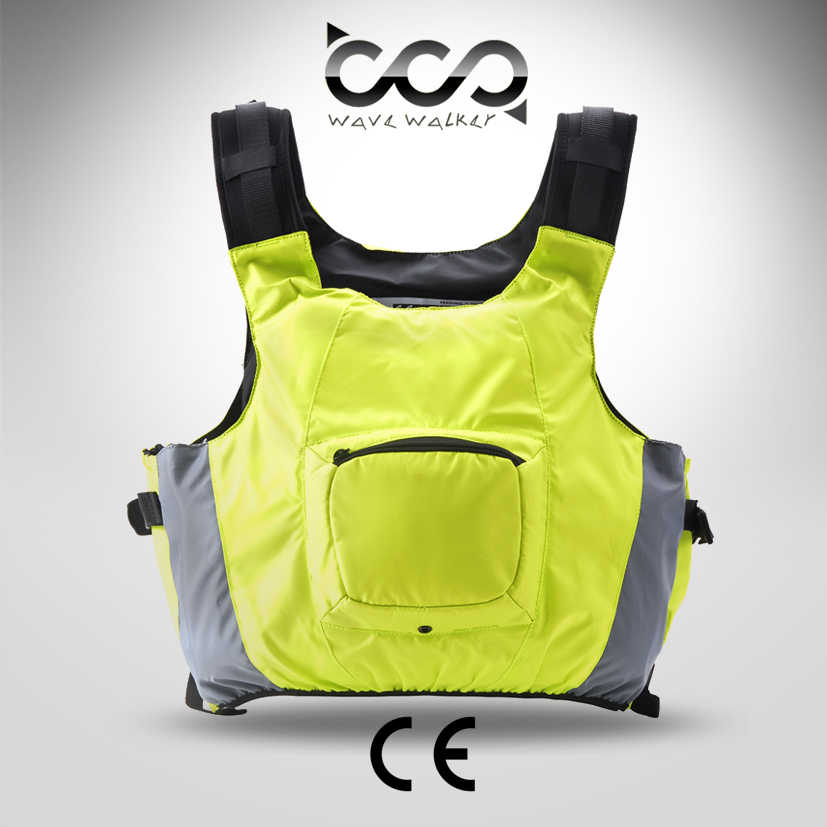 New European Standard ISO12402-5 50N Adult Life Jacket Drifting Boating Survival Safety Vest