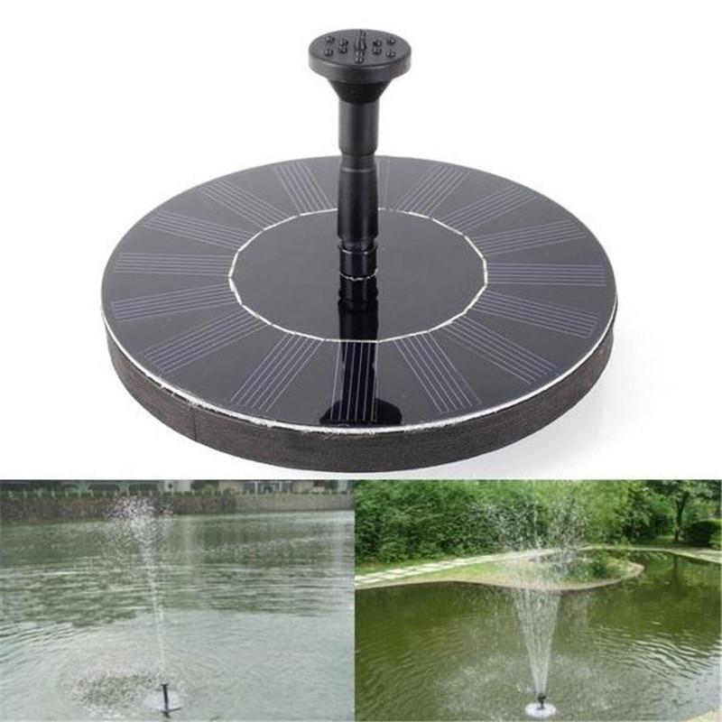 2017 Solar Water Pump Power Panel Kit Fountain Pool Garden Pond Floating Set Submersible