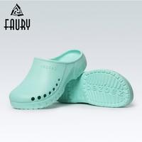 Men's Doctor Nursing Surgical Shoe Pet Hospital Dental Operating Room Anti slip Slippers Medical Clogs Women Cleaning Work Shoes