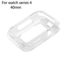 Ультратонкий силиконовый защитный чехол для apple watch 44 мм