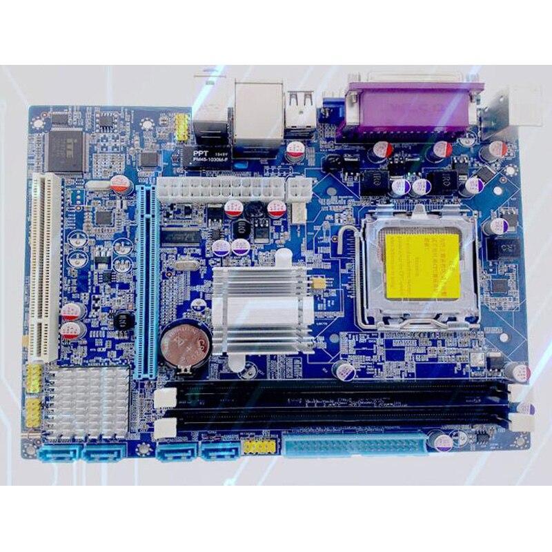 Intel G41 LGA 771 motherboard micro-ATX desktop mainboard DDR3 1066/1333 double channel 210*170mm 2 years warranty intel g31 micro atx lga 775 ddr2 computer motherboard blue silver