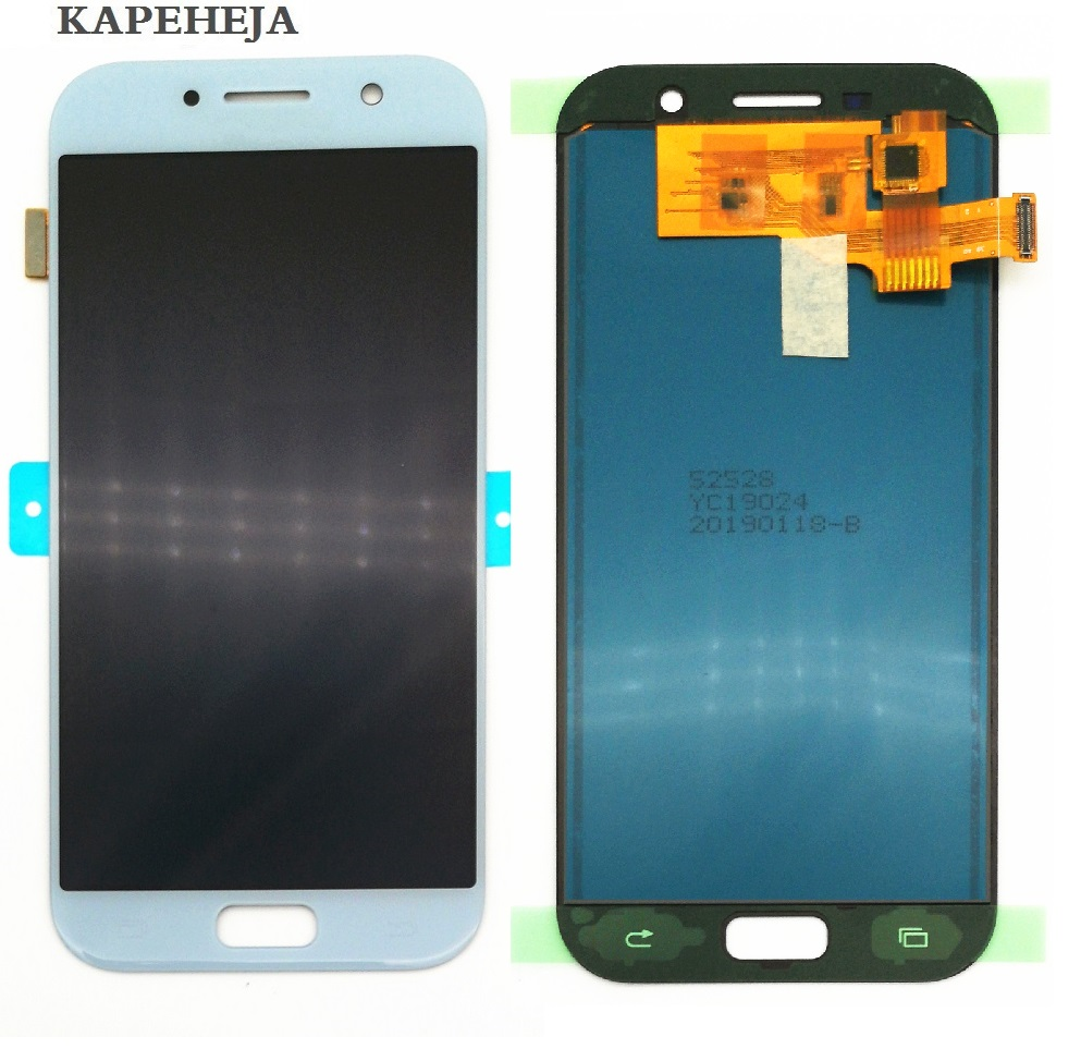 HTB1tvWgJNjaK1RjSZFAq6zdLFXau Can adjust brightness LCD For Samsung Galaxy A5 2017 LCD A520 SM-A520F LCD Display Touch Screen Digitizer Assembly