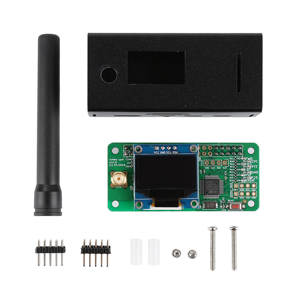 2019 V1 7 Jumbospot UHF VHF UV MMDVM Hotspot For P25 DMR YSF DSTAR NXDN Raspberry