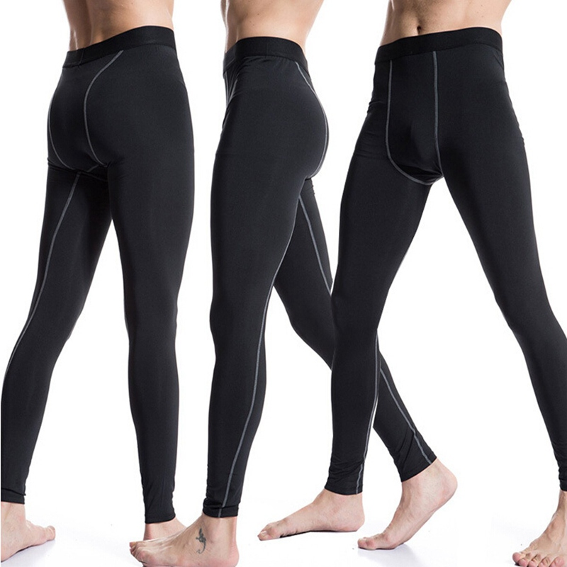 New Breathable Mens Running Compression Long Pants Sports Underwear Base Layers Tights Outdoor ...