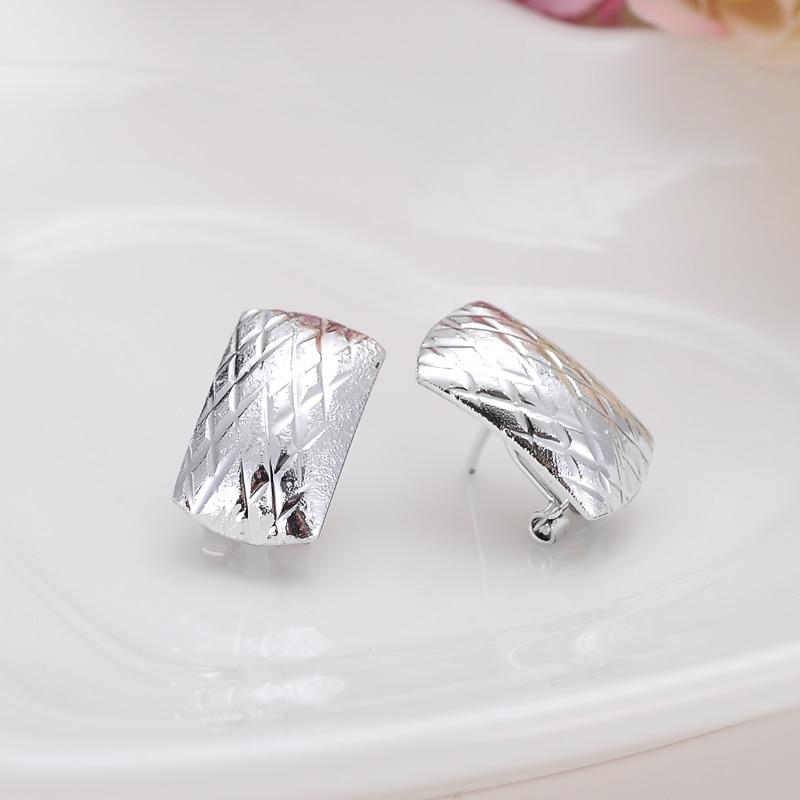 2pairs Romantic Ethiopian/Nigerian earrings African earrings silver earrings For Women Fashion style girls KIDS earring