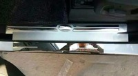 Car styling stainless steel outside+inner scuff plate door sill covers for Land Rover Discovery3/4 2010 2016 auto accessories