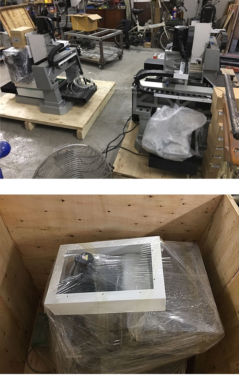 LY 3040 full cast iron 1.5KW 2.2KW 3.5KW CNC engraving machine step motor standard version 3 axis Z axis 170mm 220V (11)