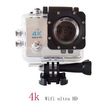 4K Video Camera 1080@60FPS Full HD Sports Video Camera Wifi 30M Waterproof 2.0inch LCD Helmet Camera Fotografica Cam