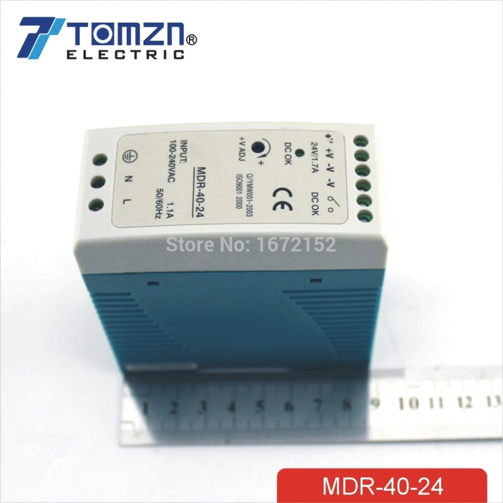 40w 24v Mini Din Rail Single Output Switching Power Supply In 13 V Circuit From Home Improvement On Alibaba Group