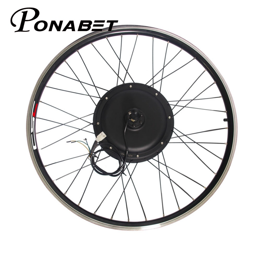 Perfect Ebike Electric Rear Motor Conversion Wheel Without Battery 20 26 27.5 27 28 29 inch 250w 500w 1000w 1500w E Bike Parts 36V 48V 1