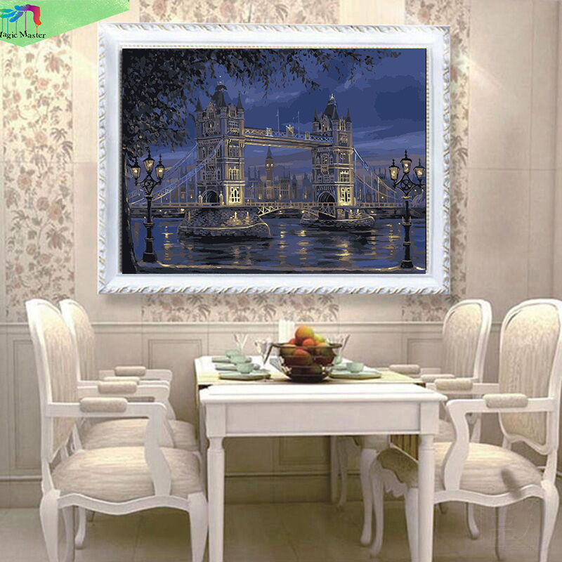 Hand painted diy oil paintings on canvas painting by for Home decor london