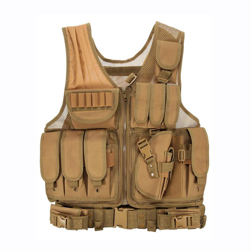 Image 4 - 2019 Army Tactical Equipment Military Molle Vest Hunting Armor Vest Airsoft Gear Paintball Combat Protective Vest For CS Wargame-in Hunting Vests from Sports & Entertainment
