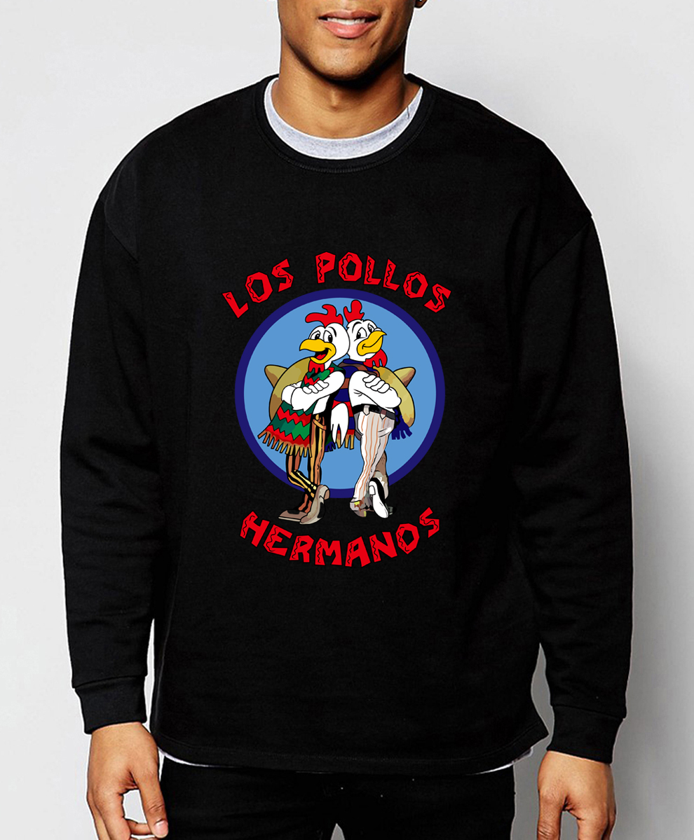 Men's Fashion Breaking Bad sweatshirts LOS POLLOS Hermanos the Chicken Brothers 2019 new spring winter fashion hoodies men S-2XL