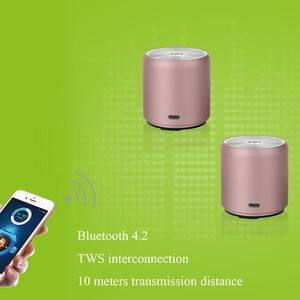 Image 2 - EWa A107 Speaker For Phone/Tablet/PC Mini  Wireless Bluetooth Speaker TWS Interconnect Technology Small Portable Speaker