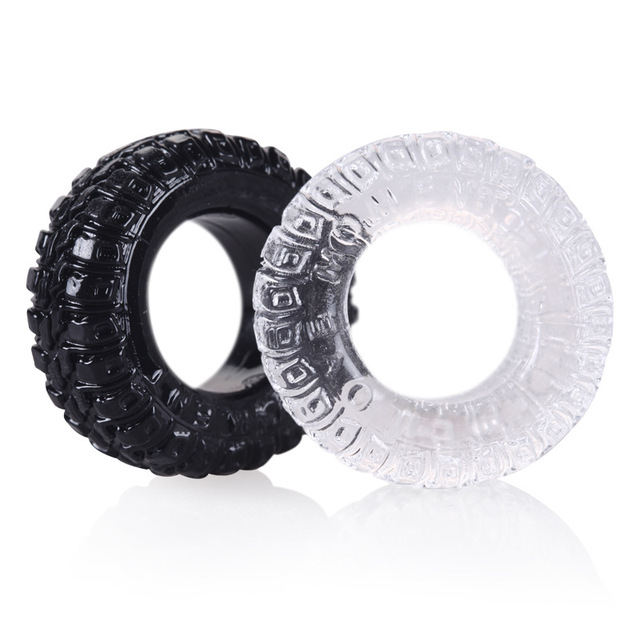 Silicone Tire Penis Ring Delayed Ejaculation Cock Rings