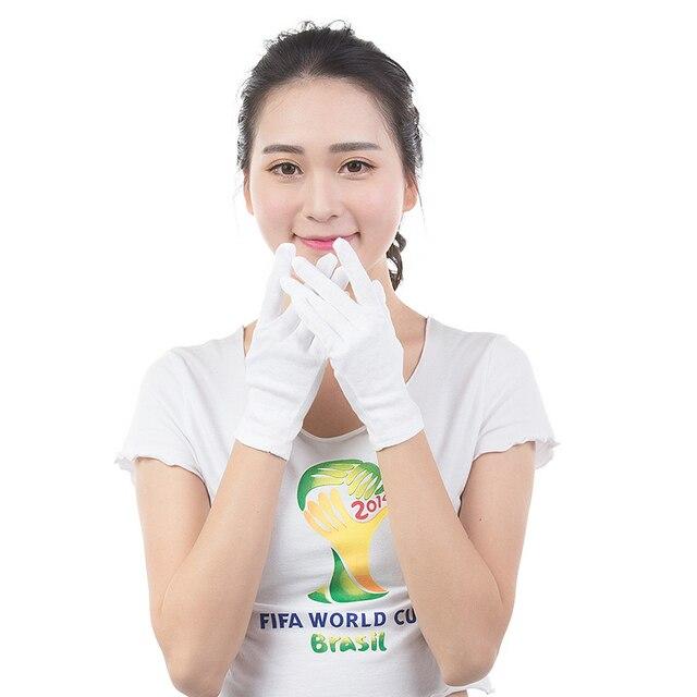 White Cotton Gloves 4
