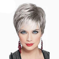 Full Wig Human Hair Topper Toupee Clip Hairpiece Lace Top Wig For Women Hair Accessories0928