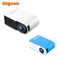 Gigxon G210 LED Projector 600 lumen 3.5mm Audio 320x240 HDMI USB TF Micro USB Portable Projector for Laptop smartphone Game Box