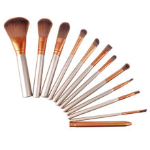 New !! Multifunctional Contour Foundation Makeup Brushes set Loose Powder Brush Cream Brush Make Up Brushes