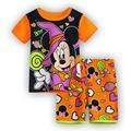 Meninas pijama definir Minnie Mickey Pijama traje terno conjunto de roupas Crianças Crianças pijamas de verão crianças pijama sleepwear 2-7A