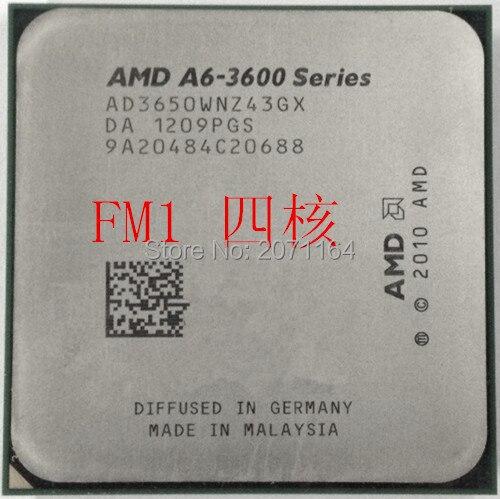 Для AMD A6-3650 четырехъядерный ПРОЦЕССОР APU 3650 официальная версия четырехъядерных процессоров FM1 интегрированная графика настольных процессор