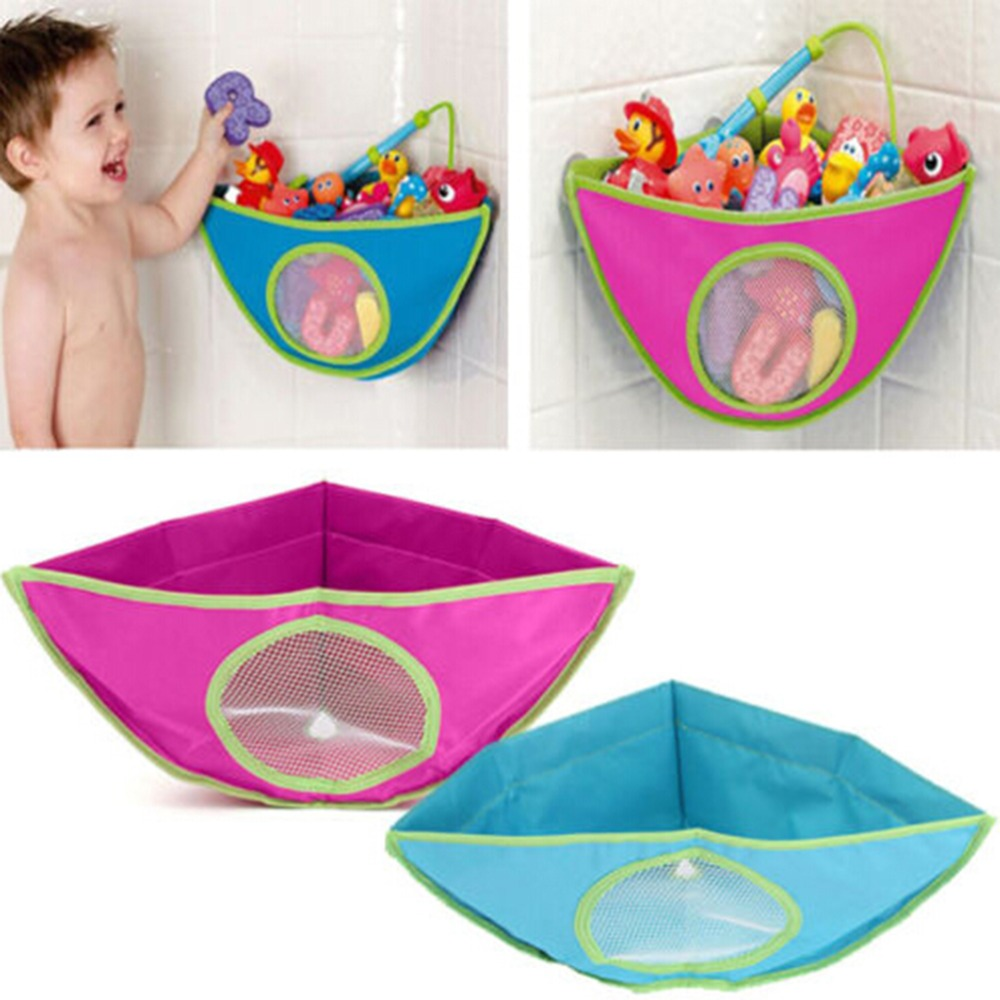 Baby Kid Bag Waterproofs Bath Tub Toy Bath Toy Organizer Storage Bin ...