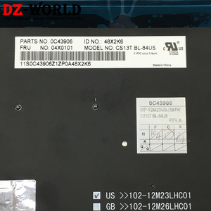 Image 3 - ใหม่/Orig US ภาษาอังกฤษแป้นพิมพ์ Backlight Backlit สำหรับ Thinkpad T431S T440 T440P T440S T450 T450S T460 04X0101 04X0139 0C43906