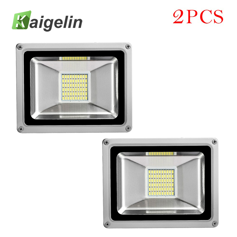 2Pcs 30W LED Flood Light 220V-240V 3300LM Reflector Floodlight SMD5730 IP65 Waterproof Led Lamp Garden Lighting Outdoor Lighting led flood light 200w eptar led floodlight outdoor lighting 220v 240v led reflector spotlight ip65 waterproof garden lamp
