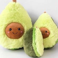Прекрасный мультфильм Удобная авокадо подушка милый красивый авокадо Плюшевые игрушки подарки на день рождения kawaii подарок