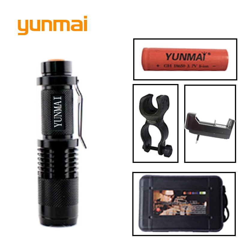 Powerful NEW XML T6 XM-L2 U3 Flashlight Waterproof lighting Aluminum Torch light 5 Mode Zoom Flashlight Led Hunting Lights zpaa mini penlight lanterna xml t6 xml l2 led flashlight torch 3800lm 5000lumens powerful zoom waterproof gladiator flash light