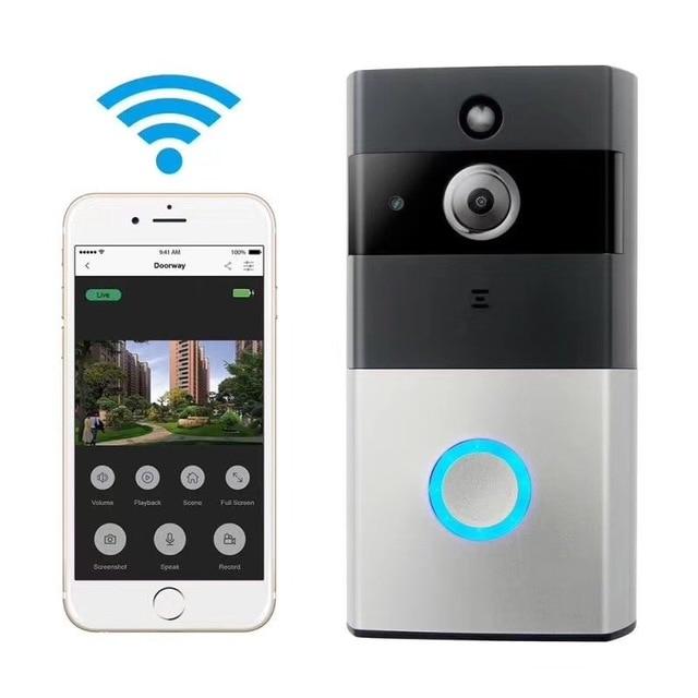 WNK 1MP Wireless Wifi Video Door Phone Doorbell Intercom HD 720P 2 way Audio PIR motion detection Ultra-long standby doorphone