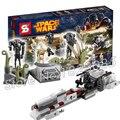 189pcs Bela SY311 Star Wars Battle on Saleucami Model Building Blocks Buzz Droid Battle Compatible With Lego