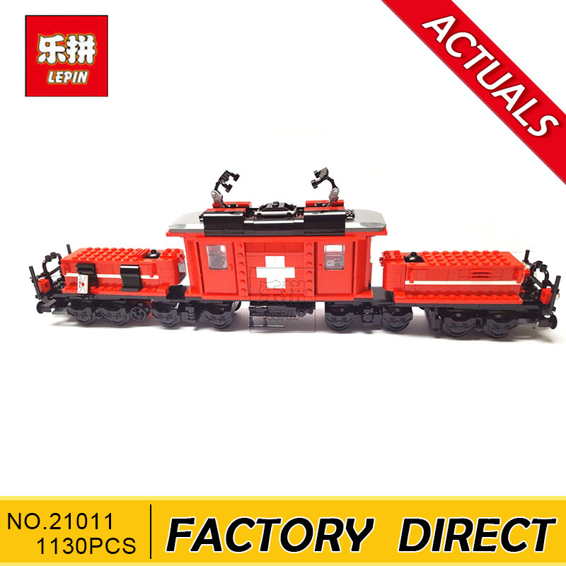 LEPIN 21011 1130Pcs Technical Series The Medical Changing Train Set Children Educational Building Blocks Bricks Lepin Toys 10183