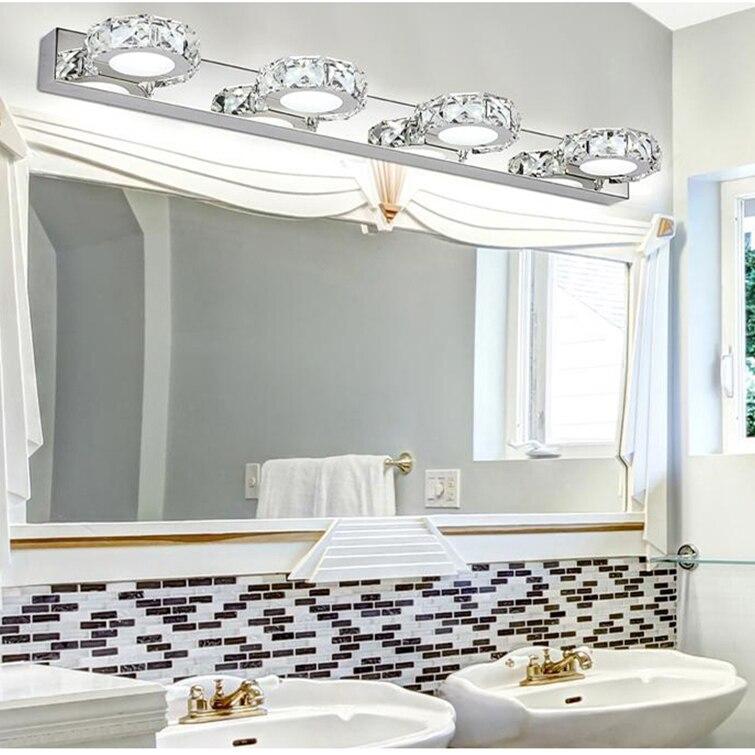Crystal 3W//6W//9W//12W LED Wall Light Fixture Multihead Mirror Lamp 2835 SMD Hotel