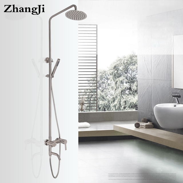 Aliexpress.com : Buy Bathroom shower faucets Stainless steel wall ...