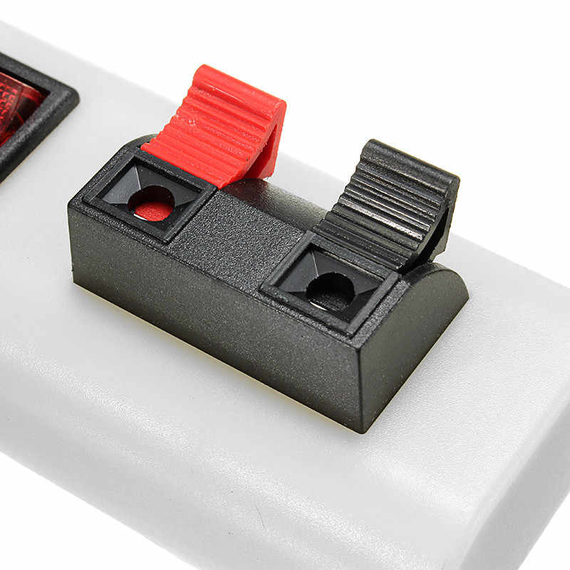 1,5 м Светодиодные ленты тонкая проволока Тесты клип в красный горошек с выключателем для RGB один цвет штепсельная вилка стандарта США 2 коннектор для проводов с клеммами 3014/3528/5050/5630SMD